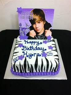 Justin Bieber Birthday Cake Cakecentral