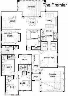 single storey house plans australia australia storey building plan