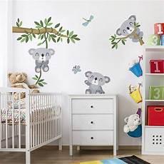 wandtatoo kinderzimmer bilderwelten wandtattoo kinderzimmer koala set wandtattoo