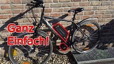 fahrrad selber zu ebike aufr 252 sten