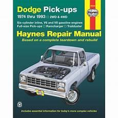 car repair manuals download 1993 dodge ram wagon b250 free book repair manuals haynes repair manual new ram truck dodge d150 ramcharger d250 w150 30040 ebay