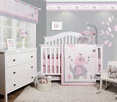 Baby Bedroom Ideas Pink And Grey by Optimababy Pink Grey Elephant 6 Baby Nursery