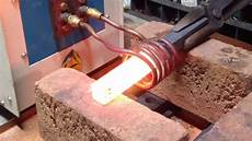 This Induction Forge Heat Up A Steel Bar In Only 12