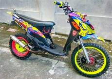 Babylook Mio J by Modifikasi Motor Trail Bebek Sport Matic Terbaru 2019