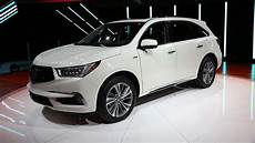 acura in new york 2017 acura mdx debuts in new york with new brand face photos 1 of 8