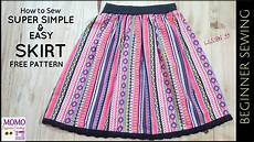 free sewing patterns for beginners easy sewing patterns for beginners how to sew super simple easy skirt free pattern beginners