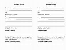 receipt template for services rendered exles service invoice qualads