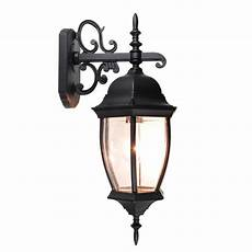 outdoor exterior lantern wall light lighting fixture black yard garden sconce us ebay