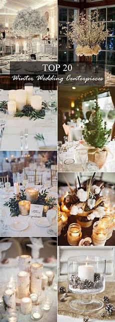 20 centerpieces for winter wedding ideas oh best day ever