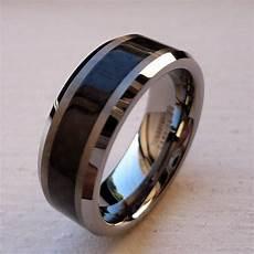 2019 latest unique tungsten wedding rings