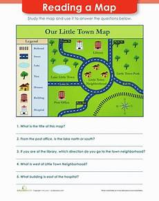 easy mapping worksheets 11537 map reading worksheet education