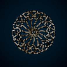 Arabische Muster Malvorlagen Text Arabische Geometrische Runde Mit Blumenverzierung Muster