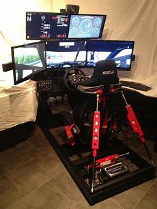 Finished Black Motion Simulator Mit Traction Loss