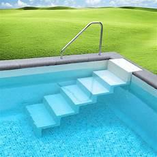 pool treppe leiter eleganz 60 5 stufig zur