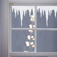 Winter Icicles Vinyl Window Stickers By Nutmeg Wall