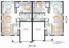 multi family house plans duplex multi family plan sullivan no 3059 duplex floor plans