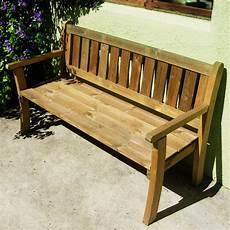 banc de bois banc de jardin en pin trait 233 autoclave 150cm x 48cm x 88