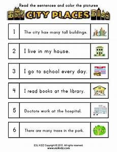 worksheets for places to live 15996 city places activities and worksheets for
