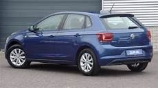 volkswagen new polo comfortline reef blue metallic 15 inch