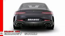 brabus 800 exhaust sound based on the new mercedes amg gt