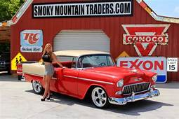 1955 Chevy Bel Air Hardtop AC PS 4WPDB 350 Crate Auto