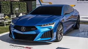 Acura Type S Concept Looks Even Better In The Monterey Sun