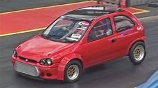 vauxhall corsa b runs 11 80 at 134 mph