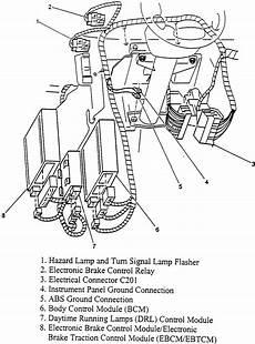 repair anti lock braking 1997 gmc savana 2500 engine control repair guides