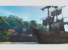 Fortnite Season 8 started with pirates and lava   Rock