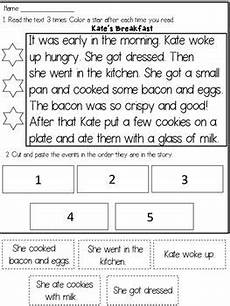 time sequencing worksheets 3200 story sequencing reading passages a caboodle of common grade reading