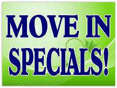 Apartment Rent Specials by Move In Specials Sign 102 Apartment Sign Templates