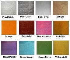 color charts epoxy floor supply