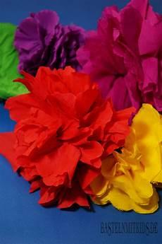 papierblumen basteln bastelnmitkids