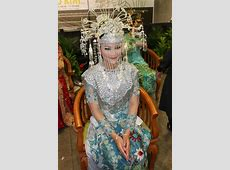 Betawi's bride in blue #Indonesian #Indonesianwedding http