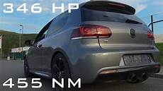 golf 6 r tuning teile vw golf 6 r sound acceleration onboard autobahn 0 200