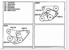 1998 Toyotum 4runner Alternator Diagram by 2001 Toyota Tacoma Engine Diagram Automotive Parts