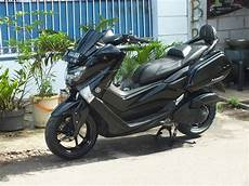 Modifikasi Motor Yamaha Nmax by Yamaha Nmax Hitam Modifikasi Bikin Merinding Modifikasi