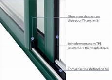 joint etancheite baie coulissante fen 234 tres baies vitr 233 es en aluminium comptoir des bois