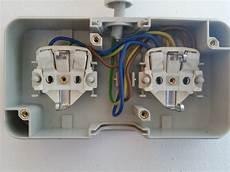 5 adriges kabel anschließen steckdose aufputz doppelsteckdose anschlie 223 en wie eine steckdose