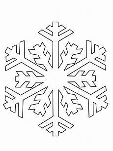 ausmalbilder schneeflocken schablone zum ausdrucken