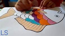Mewarnai Gambar Ikan Untuk Anak Tk