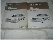 all car manuals free 1989 lexus ls transmission control lexus ls400 repair manual ebay