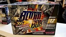 Boom Box Weco Feuerwerk Neuheit 2018 19 Feuerwerksbatterie
