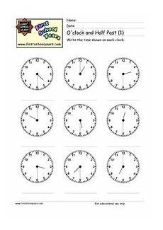 time worksheets to and past 3210 o clock and half past 1 worksheet for 2nd 3rd grade lesson planet