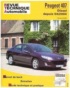 revue technique peugeot 407 diesel depuis 04 2004 rta 686 2