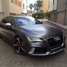 Audi Rs7 Farben - audi rs7 vinilado en negro mate satinado increible