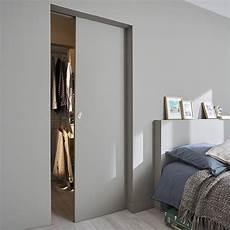 porte coulissante intérieure 95662 d 233 co salon porte coulissante pr 233 peinte 83 cm syst 232 me 224 galandage integra soft castor