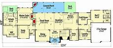 craftsman house plans with walkout basement broad and spacious craftsman home plan with fully loaded