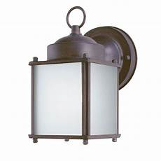 westinghouse 1 light steel outdoor wall lantern with dusk to dawn sensor and frosted