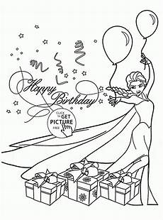 birthday card coloring page at getcolorings free